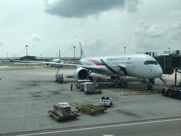 Experiencing Malaysia Airlines' brand new A350-900 Business Class