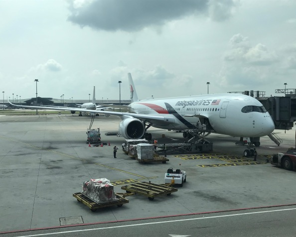 Experiencing Malaysia Airlines' brand new A350-900 BusinessClass